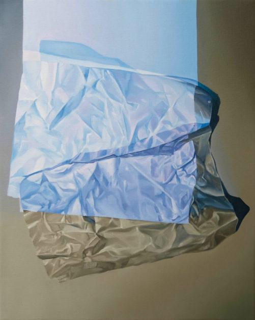Sckaro | Oscard Maslard | Blue square on grey